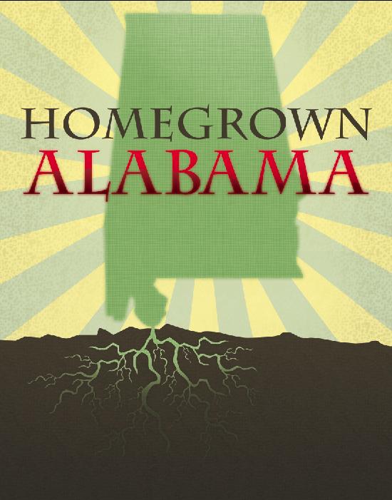 Homegrown Alabama Logo