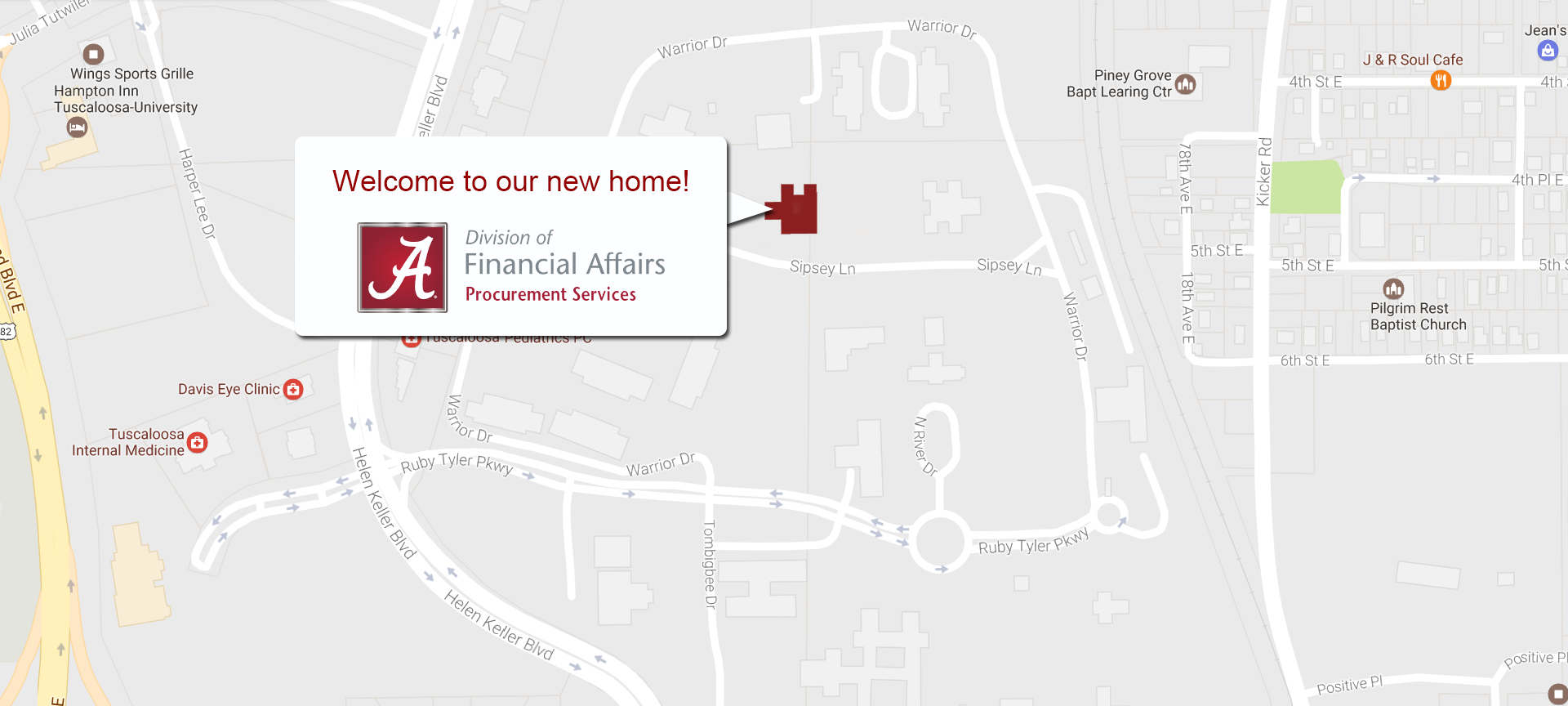 We've moved!  Click here for more information.